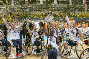 Great Britain over Turkey by 2 points to win 2013 European Wheelchair Basketball Championships